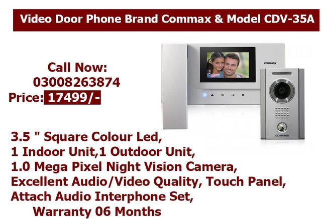 Video Door Phone Brand Commax & Model CDV-35A