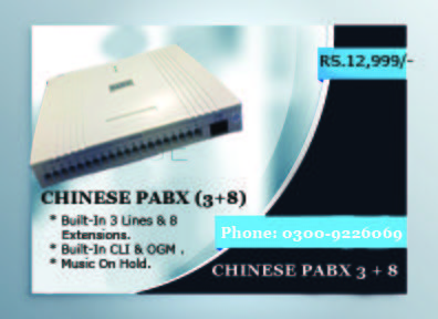 Exchange System for Communication ( Chinese PABX System )