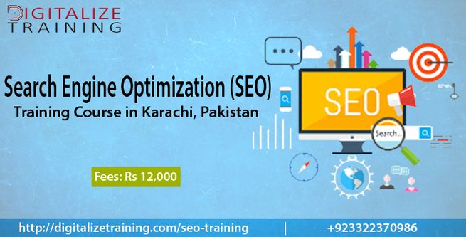 SEO Training Course in Karachi, Pakistan