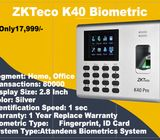 ZKTeco K40 Fingerprint Biometric System
