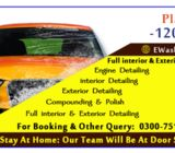 interior & exterior car wash service at your door step
