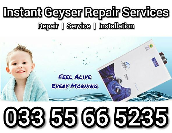 Best Instant Gas Geyser / Water Heater Repair Services in Lahore just On 1 Call...