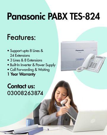 PABX / Panasonic  TES-824