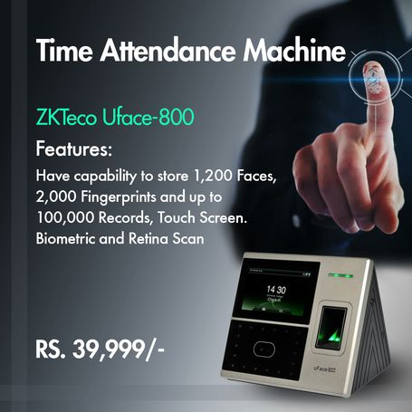 Biometric and Retina Attendance Machine