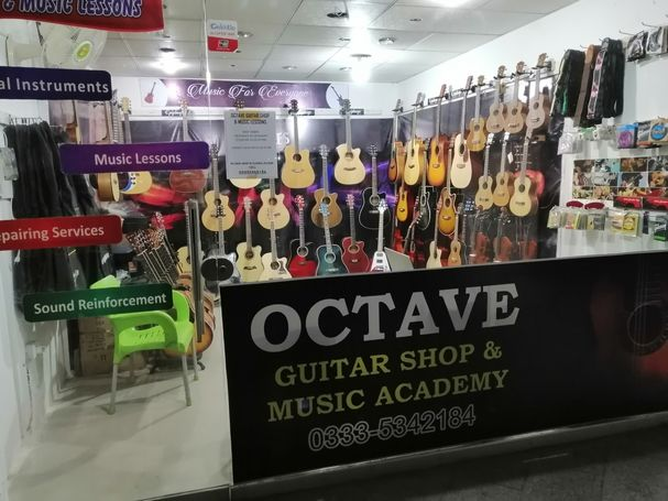 Octave Guitar Shop Islamabad