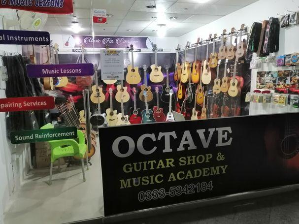 Octave Guitar Shop Islamabad