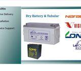 leoch dry battery 12v  9ah