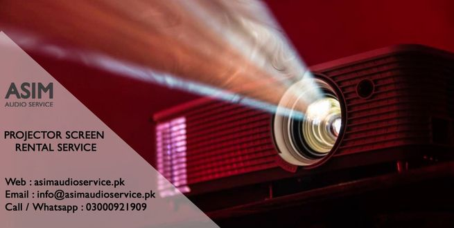 Multimedia Projector on Rent in Karachi - Asim Audio Service
