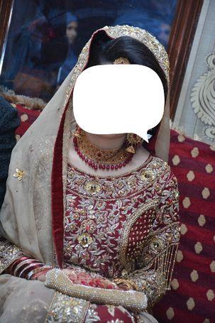 Special offer only 40000 rs Brand Shaziya kiyani Bridal Dress