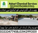 Roof Water Heat Proofing Basement Leakage Repair