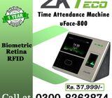 Retina based Attendance Machine (Biometric)