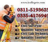 Civil Surveyor Course in Rawalpindi punjab 03115193625