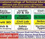 Quantity surveyor experience based diploma in rawalpindi 03354176949