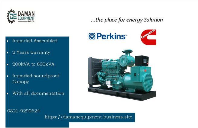 Diesel Generator Perkins 15KVA 2 Years Warranty