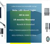 SOLAR LED STREET LIGHT 90W WITH 6 MONTHS WARRANTY