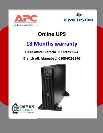 UPS APC 1500VA SMART WITH 18 MONTHS WARRANTY