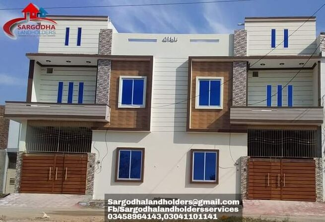 Brand New 2.75 marla double story house for sale at sharif garden