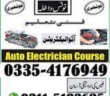 EFI Auto Mobile Electrician 2021 course in rawalpindi shamsabad  punjab pakistan 03115193625
