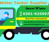 Sweet water tanker for residential and commercial customers