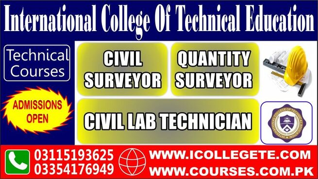 Civil Lab Technician Course In Rawlakot Hajira