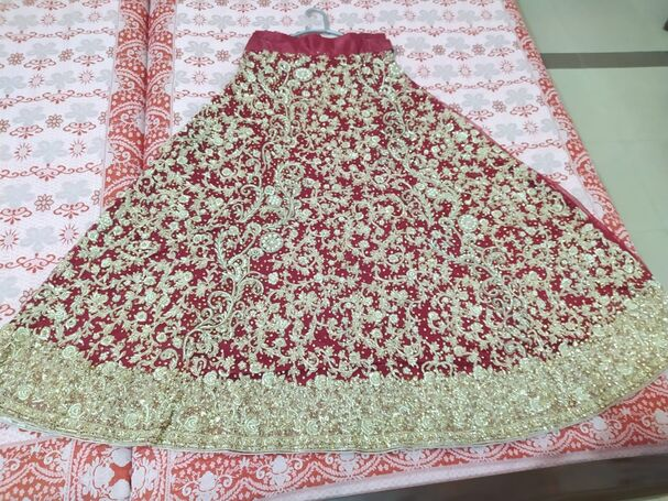 Heavy Bridal Lehanga - Only Serious Buyers can contact, Urgent Sale (Negotiable)