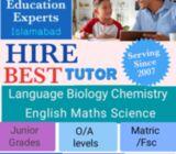 Banigala Home tutor islamabad