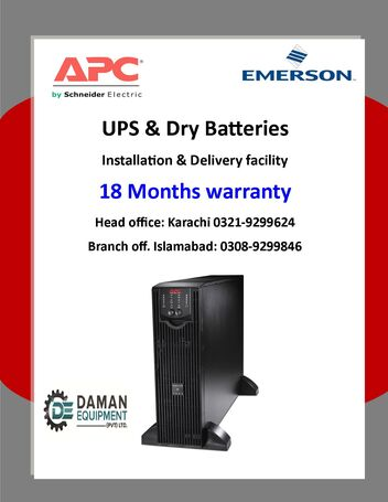 UPS APC SUA 1500 smart with 18 months warranty delivery all over Pakistan