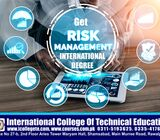 INTERNATIONAL RISK MANAGEMENT DEGREE IN PAKISTAN