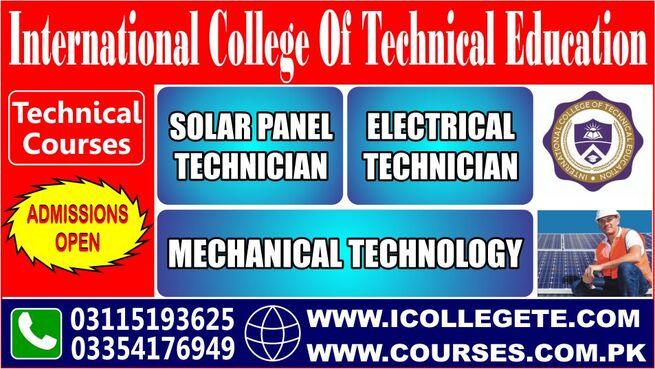 Mechanical Technology experience based diploma in rawalpindi murree road punjab 03115193625