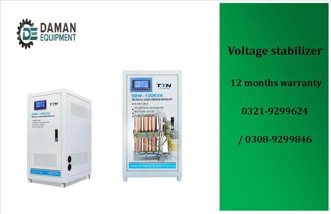 Voltage Stabilizer SBW TTN brand 3 phase 250kva with 12 months warranty & 12 months free service.