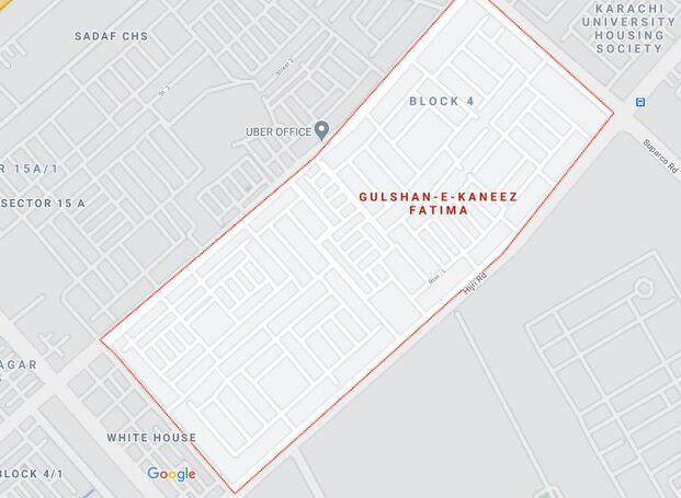 Flat For Rent in Gulshan-e-Kaneez Fatima block 1