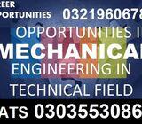 Mechanical Engineering Experienced Based Diploma in Lahore-Rawalpindi Experience bases
