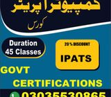 Microsoft Office& Spoken English Classes. 3035530865
