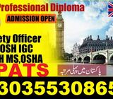 Health & Safety Engineering Diploma One & Two Year Course in Dubai 331-5145601 – Bagh