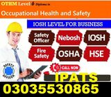 UK Based IOSH MS COURSE IN KOHAT-KPK-MARDAN