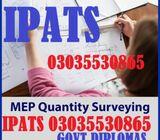 QS experience based diploma Quantity surveyor in rawalpindi 0092-3035530865 / 0092-3219606785