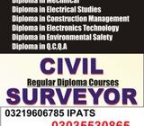 CIVIL SURVEYOR Competency Experience Based Diploma in islamabad gujrat