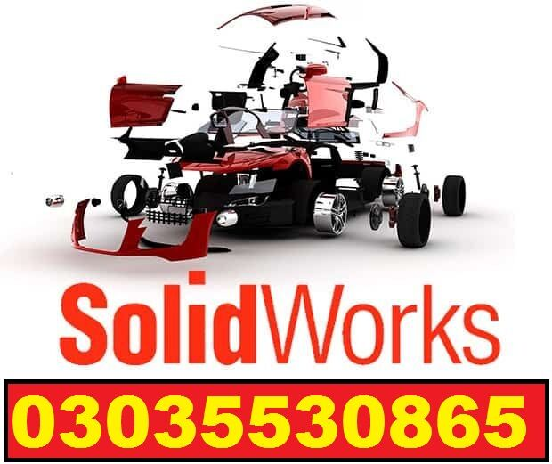 Mechanical course using Solid work design tools software training