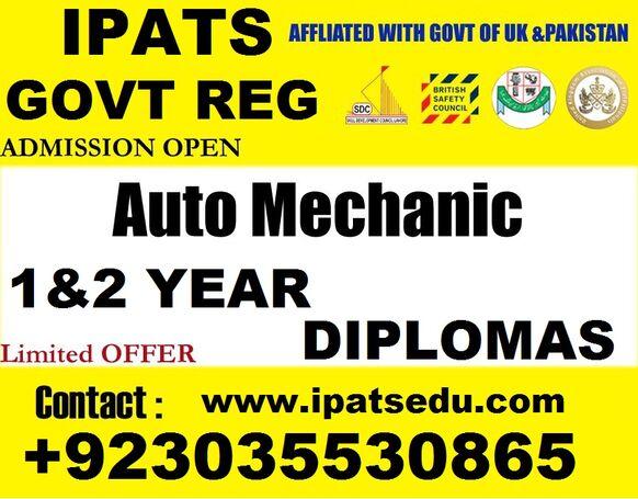 Diploma in Auto Diesel Engineering Course In Islamabad (Rawalpindi, Peshawar) Diploma in Auto Diesel