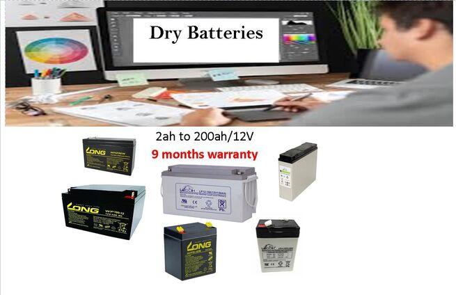 DRY BATTERY VISION  12V / 100AH /