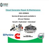 GENERATOR REPAIRING MAINTENANCE SERVICE SPARE PARTS AVAILABLE