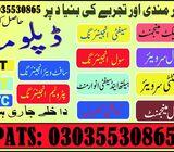 Diploma in Auto Diesel Engineering Course In Islamabad (Rawalpindi, Peshawar) 03035530865 Diploma in
