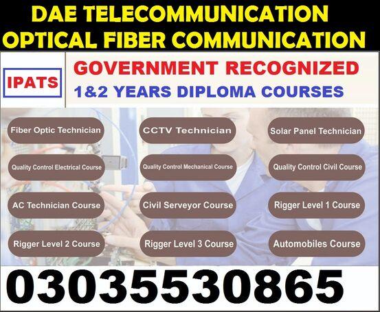 DAE Three Years Diploma Courses Karachi (Rawalpindi, 03035530865)