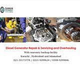 GENERATOR REPAIRING ENGINE OVERHAULING 2KVA TO 500KVA /