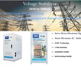AUTOMATIC VOLTAGE STABLIZER  tower double coil lcd display 20kva