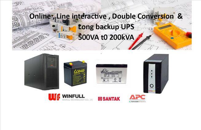 USED UPS  Brand APC  UPS Online  SRT 10KVA